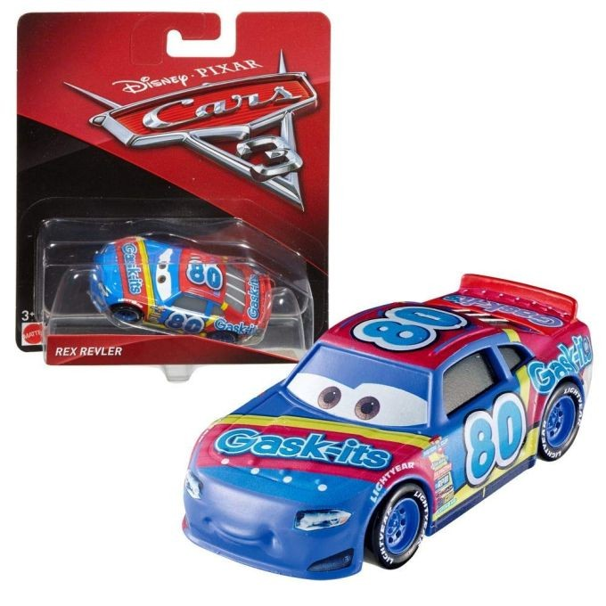 DYB00 / DVT46 Disney Pixar Cars 3 Thunder Hollow Challenge Playset