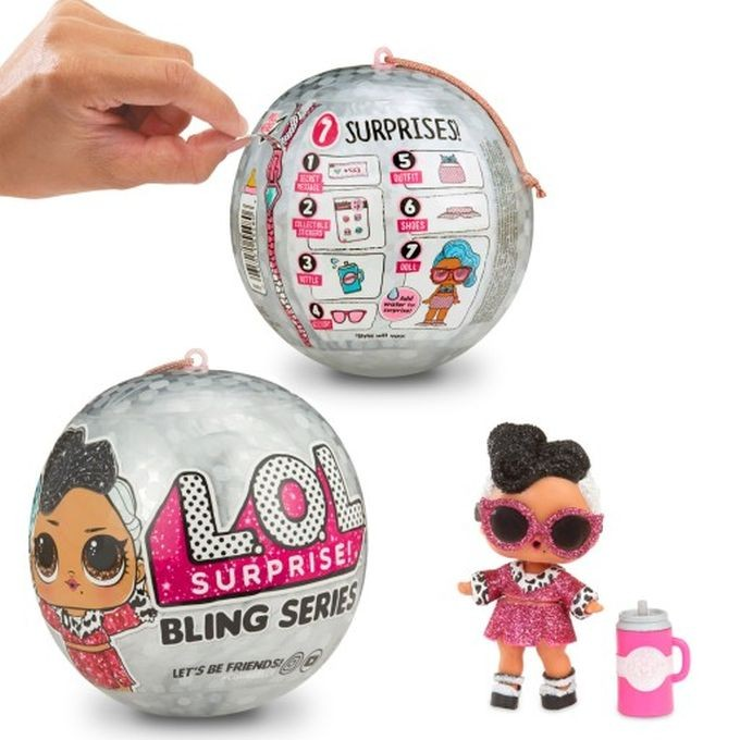 L.O.L Surprise! 562498 L.O.L Ooh La Baby Lil Bon with Purse & Makeup Surprises MGA
