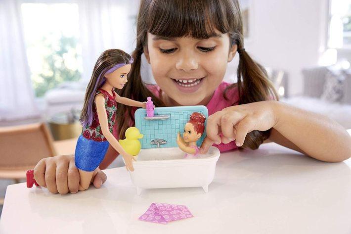 """DHC40 Barbie Rainbow Lights Mermaid  Lelle nāriņa """"Varavīksne"""""""