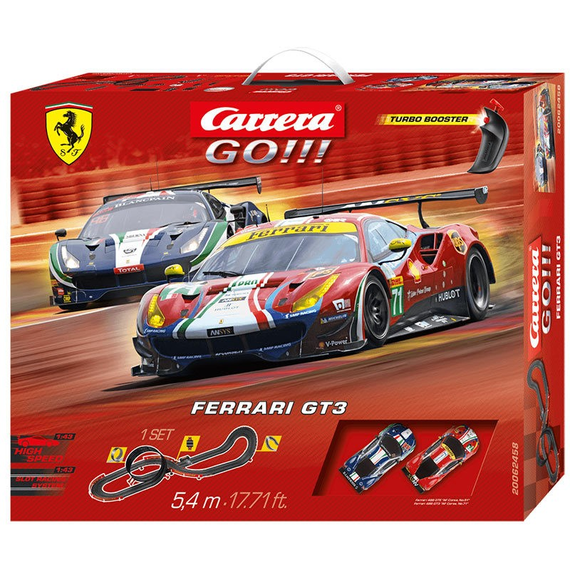 62418 Carrera  GO!!! Disney/Pixar Cars 3-Finish First! slot car race set