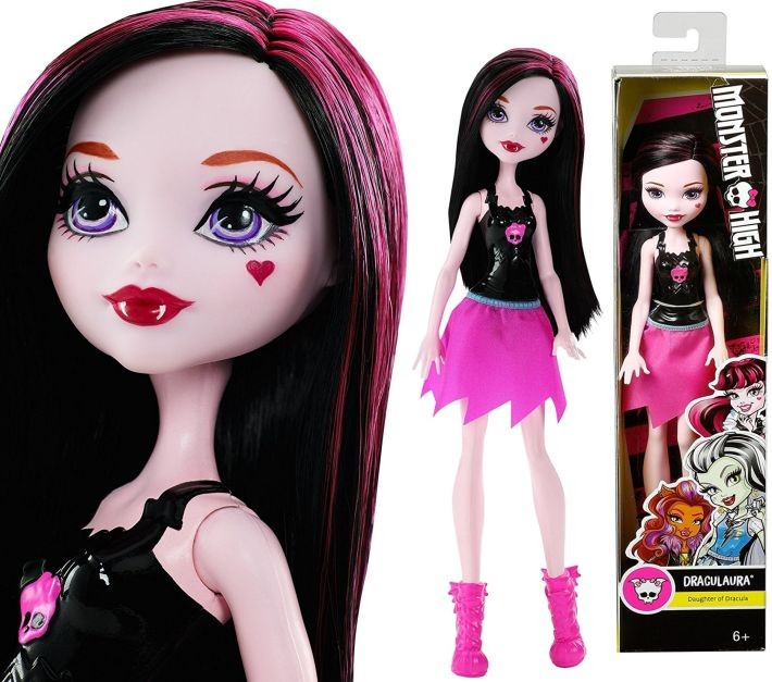 CBL21 / BJR24 Monster High Inner Monster Spooky Sweet Frightfully Fierce