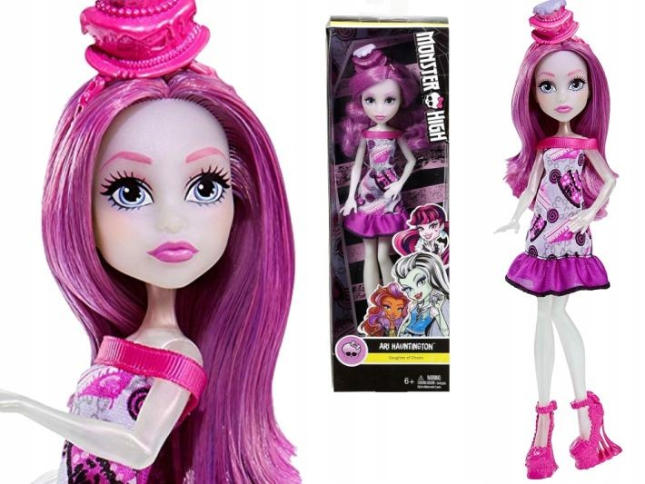 DNV66 / DNV65   Mattel  Monster High Frankie Stein BARBIE