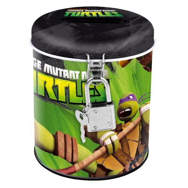 (Ir Uz Vietas) Ninja Turtles 7815 krājkase