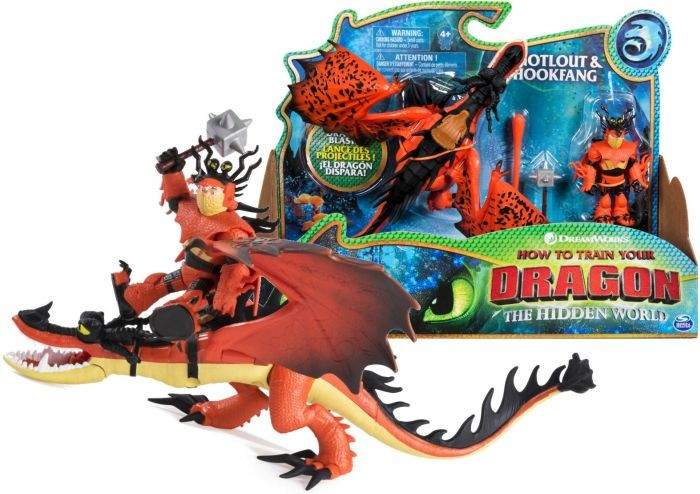 6045436 Dragons DreamWorks, Giant Toothless, 20-inch Fire Breathing Effects and Bioluminescent