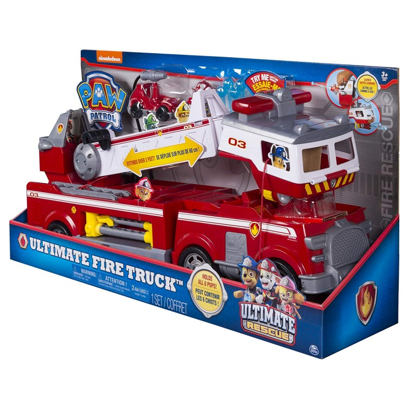 6043989 Paw Patrol Ultimate Rescue Fire Truck Пожарный автомобиль