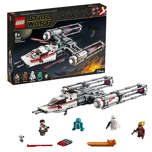 75249 LEGO® Star Wars Resistance Y-Wing Starfighter™, no 8+ gadiem NEW 2019!