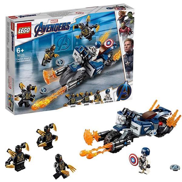 76114 LEGO® Super Heroes Zirnekļcilvēka zirnekļrāpulis, no 7+ gadiem NEW 2019!