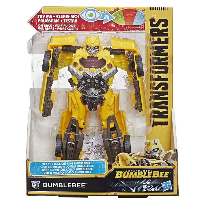 Transformers E1893 Cyberverse Scout Bumblebee Action Figure Yellow and Black new