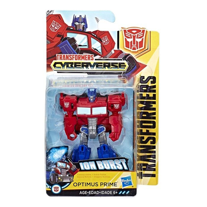 C3480 / C3368 Transformers Allspark Tech Starter Pack Shadow Spark Optimus Prime