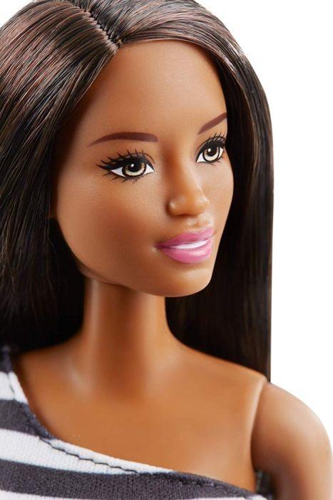 GJF86 / GJF84 Barbie 60th Anniversary Doll Black & White Dress
