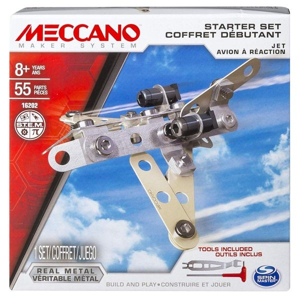6040178 Meccano Truck Self Contained Motor Model Set Spin master