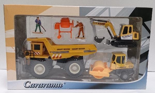 (Есть в наличии) Cararama Грузовые машины комплект 122ND
