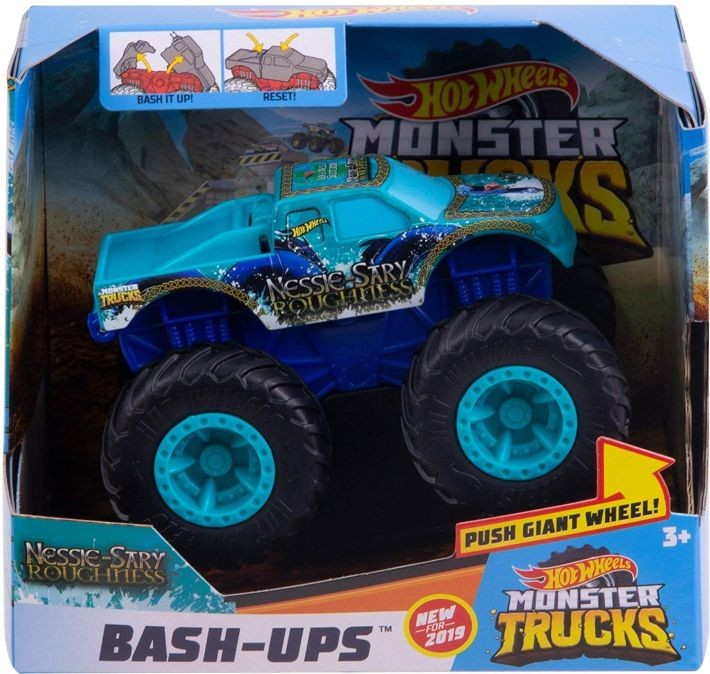 GDR84 / GCF94 Hot Wheels Monster Truck Bash-Up MATTEL