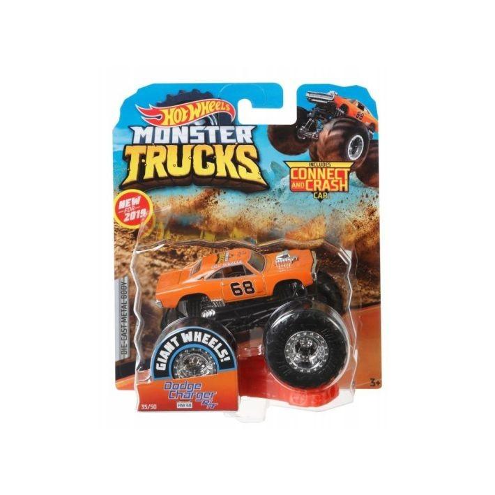 GCK38 Hot Wheels Stunt and Go Transporter Truck + 1 машина