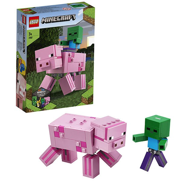 LEGO 21147 Minecraft Steve, Alex and Creeper
