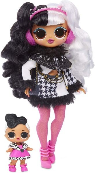 561828 L.O.L. Surprise! O.M.G. Winter Disco Snowlicious Fashion Doll & Sister