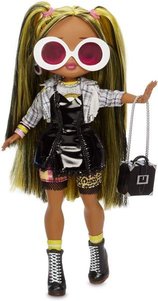 L.O.L Surprise! 561804 L.O.L. Surprise O.M.G. Winter Disco Cosmic Nova Fashion Doll & Sister