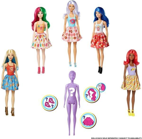 GTP41 Barbie Colour Reveal Series 2 Doll Assortment