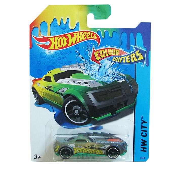 GKC18 / BHR15 Hot Wheels Color Shifters Color Changing - Hypertruck