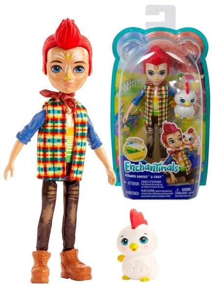 GNC57 Enchantimals  JUNGLEWOOD Cafe & PEEKI Parrot Doll  MATTEL