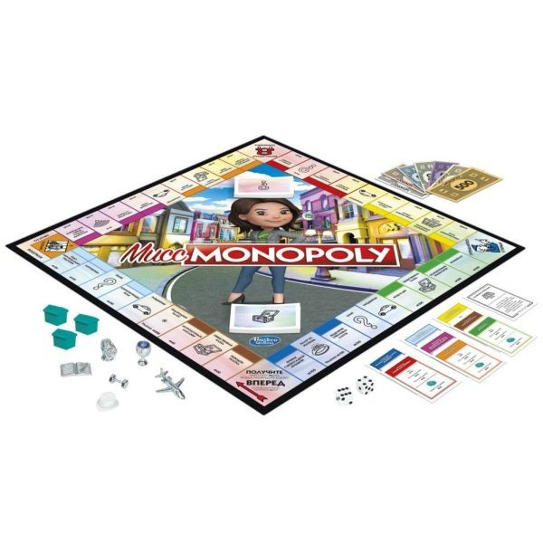B0622 Monopoly 80th Anniversary Edition Board Game Kids, Children Family