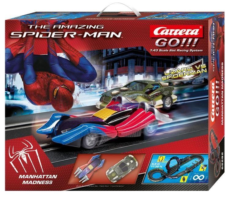 """Carrera Trase """"Go!!!"""" """"Spiderman vs Lizard"""" 62282 / 20062282"""