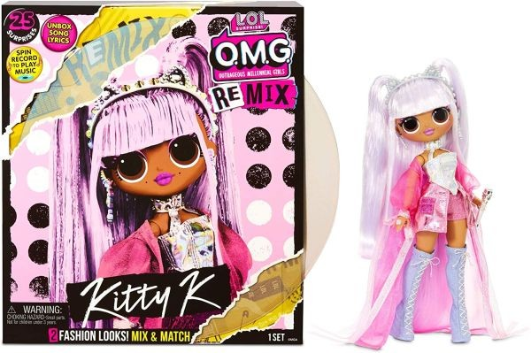 565116 L.O.L. Surprise! O.M.G. Busy B.B. Fashion Doll with 20 Surprises