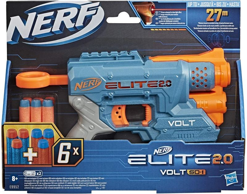 E9959 Nerf Elite 2.0 Warden DB-8 Blaster NEW 2020!