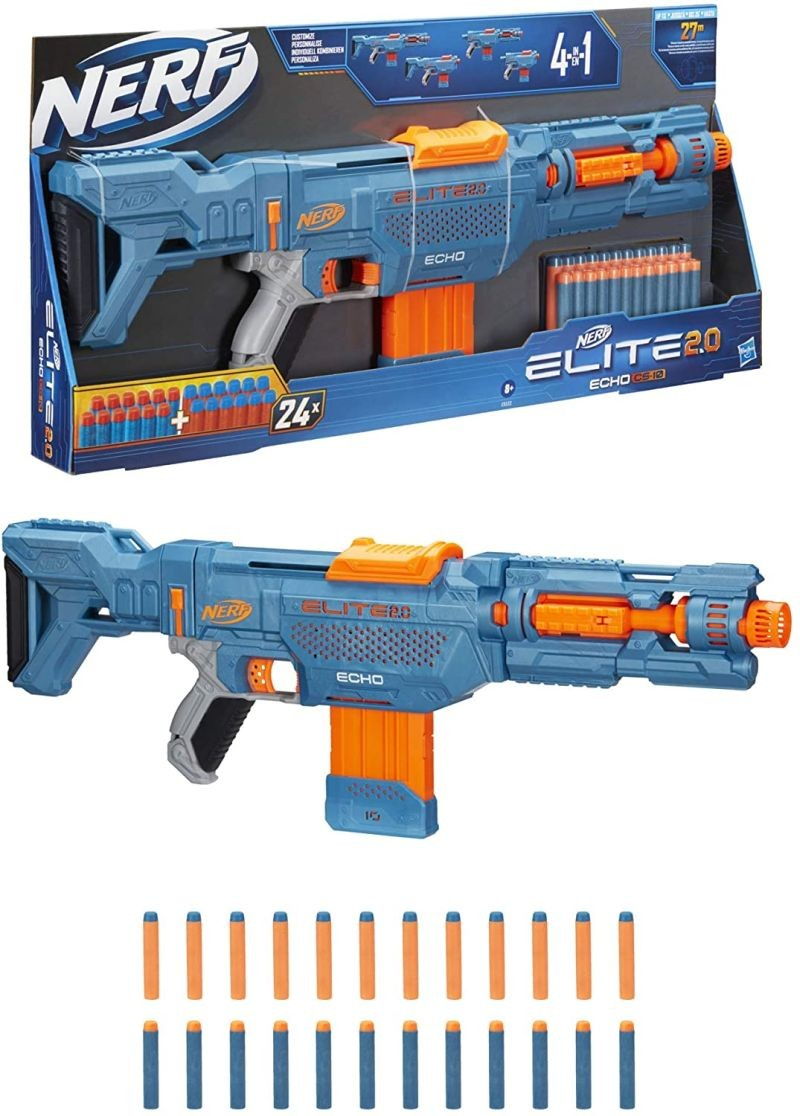 E0311  Nerf Zombie Strike Revreaper Blaster  Fast Firing, No Priming  Visible Moving Gears HASBRO