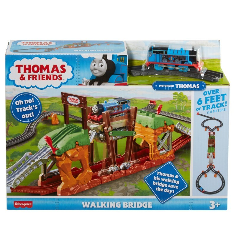 FBC52 / FBC51 Thomas Adventure Thomas Fold Up and Carry Playset MATTEL