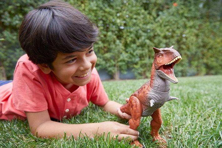 Jurassic World GCR46 / FPF11 Attack Pack Velociraptor Delta MATTEL