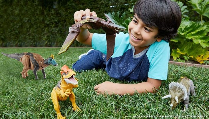 GLC12 Mattel Jurassic World Extreme Chompin Tyrannosaurus Rex