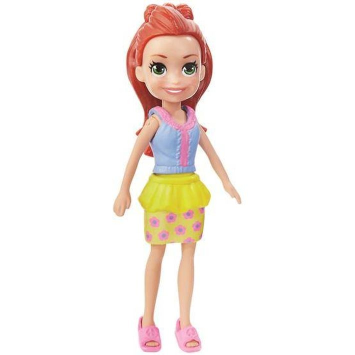 CFB65  Mattel Barbie – Carrying Case House & Doll Pārnēsājama māja + lelle