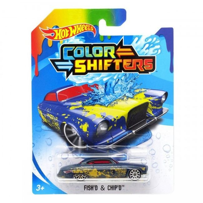 BHR15 / BHR31 Hot Wheels Color Shifters Fishd & Chipd