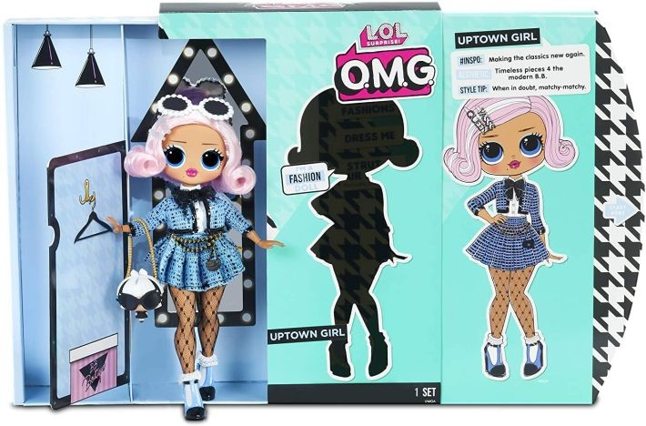 559788  LOL Surprise O.M.G. Uptown Girl Fashion Doll with 20 Surprises