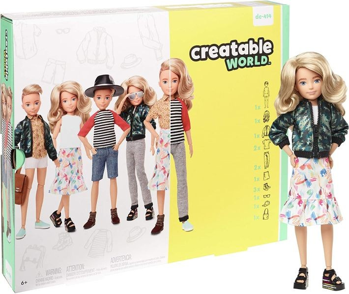 GBK10 Barbie Dream Closet liels Barbie skapis + lelle