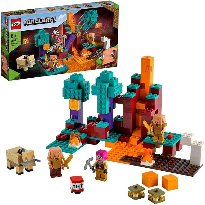 LEGO 21147 Minecraft Steve, Alex and Creeper