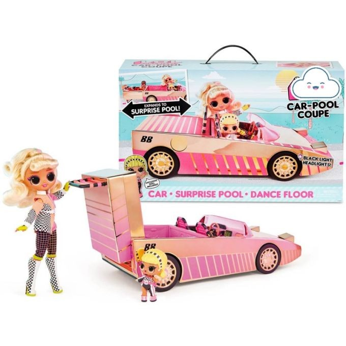 565222 LOL Surprise Car-Pool Coupe with Exclusive Doll L.O.L. OMG Kabriolets