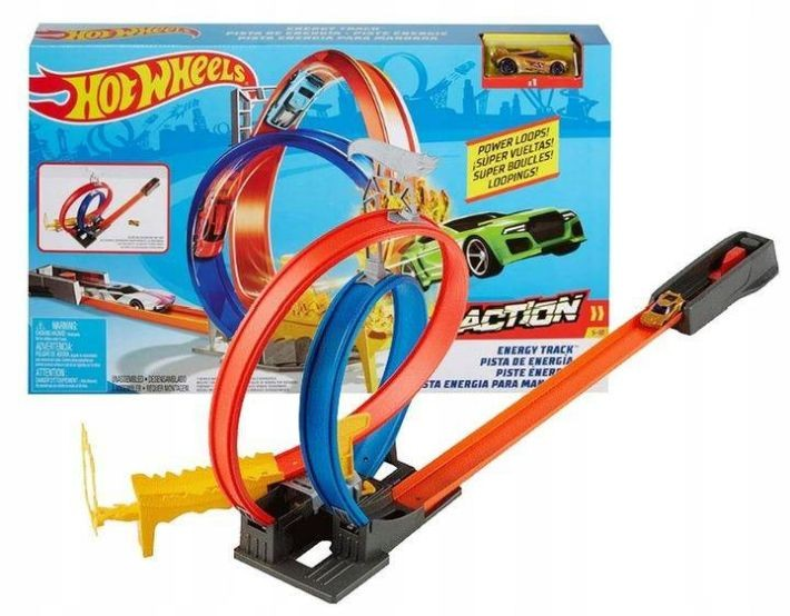 GJM76 Hot WheelS Himmelscrash Turm 83CM  Nokrist no torņa