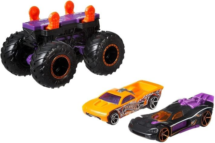 GJL14 Hot Wheels City Robo T-Rex Ultimate Garage Multi-Level