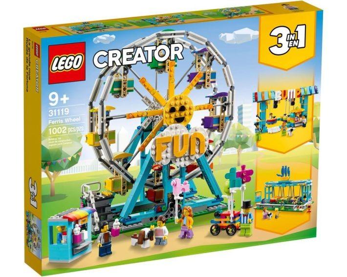 31080 LEGO® Creator Modulārā ziemas brīvdienu māja, no 7 līdz 12 gadiem NEW 2018!