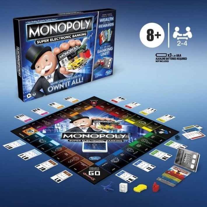 E8978RUS Galda spēle Hasbro Monopoly, RUS