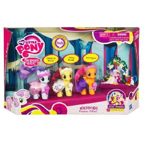 Hasbro My Little Pony Mazie draudzīgie zirdziņi 98845 / 36039