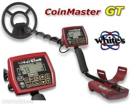 Металлоискатель Whites Coinmaster GT Metalldetektor