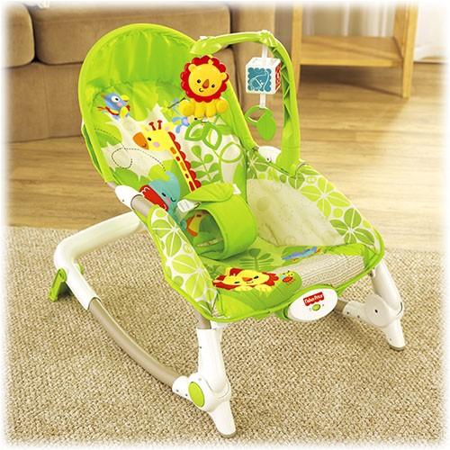 BCD28 Fisher Price Newborn to Toddler Šūpuļkrēsls līdz 18 kg  BCD28 (Ir Uz Vietas)