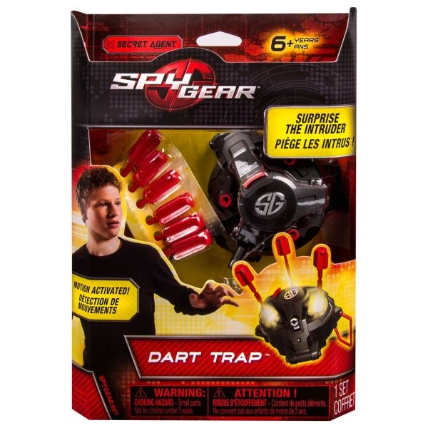 Wild Planet 70161 Spy Disc Shooters Spy Gear (Ir Uz Vietas)