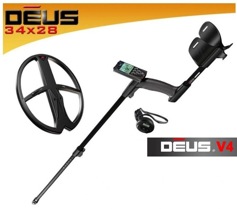 Xp Deus V5.2  X35  2019 RC spole 34X28 DD WS4 (Ir Uz Vietas) Metalldetektor
