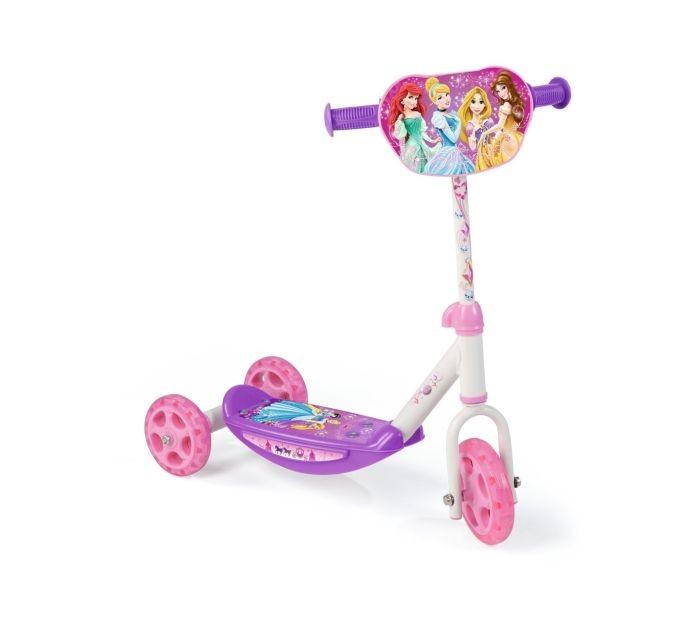 Smoby 450142 - Disney Princess Roller Trīsriteņu Skūteris Skrejritenis (Ir Uz Vietas)