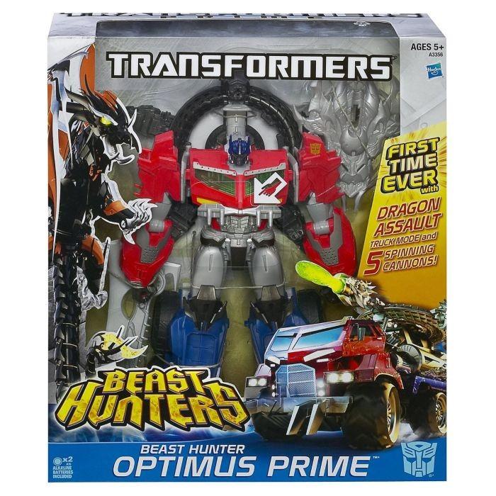 Hasbro A3356 / A6145 Transformers OPTIMUS PRIME MEGA BEAST HUNTERS 35cm