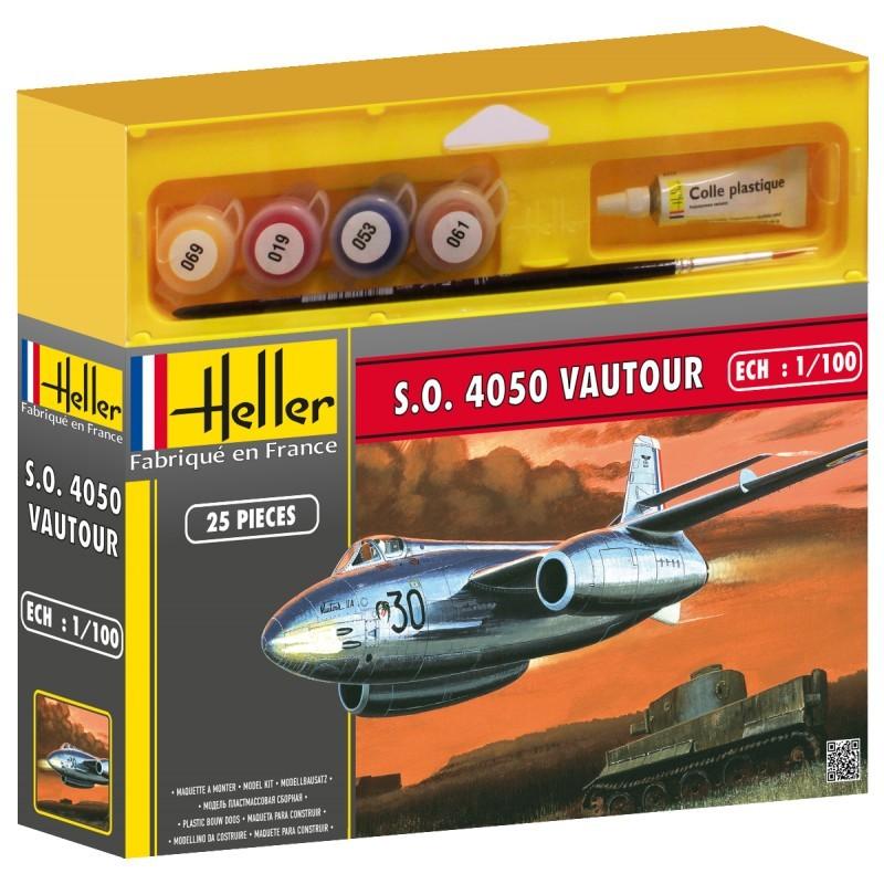 Heller пластмассовая сборная модель Самолёт 50218 CAUDRON CR 714 1/72